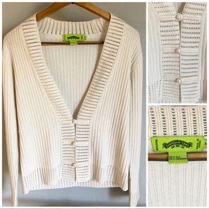 NWOT Shanghai Tang cashmere & silk sweater